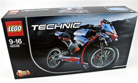 Review - 42036 Street Motorcycle | Rebrickable - Build