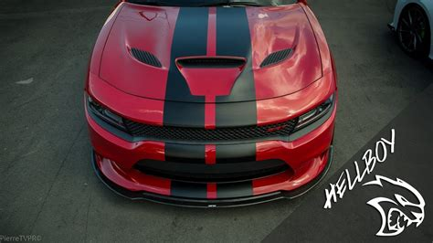 """Dodge Charger Hellcat SRT """"Hellboy Project"""" - YouTube"""