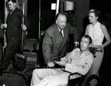 20 Rare Behind-The-Scenes Photos Of Alfred Hitchcock's