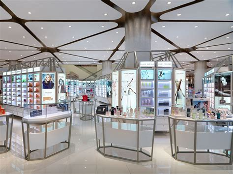 » Siam Paragon Mall's beauty department store by HMKM