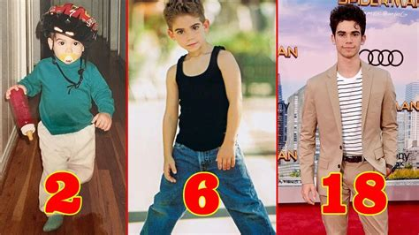 Cameron Boyce From Baby To Adult - Star News - YouTube