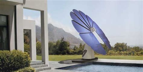 The Smartflower Solar Panel - the world's first all-in-one