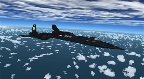 Lockheed SR-71 Blackbird for FSX