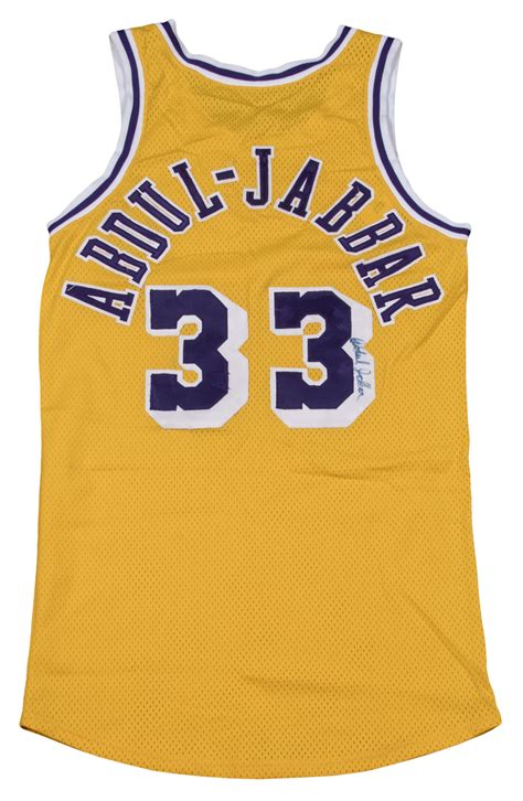 Lot Detail - 1980-85 Kareem Abdul-Jabbar Game Used & Twice