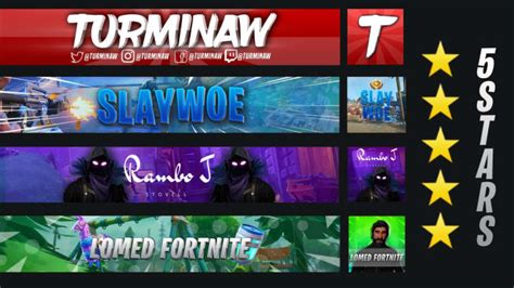 Make you a fortnite banner and profile picture by Xfqbian