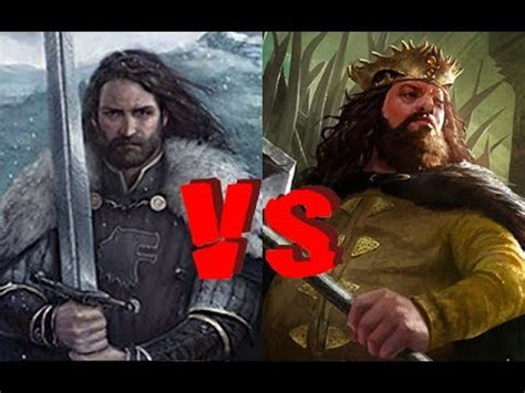 Young Robert Baratheon VS Young Ned Stark - WESTEROS