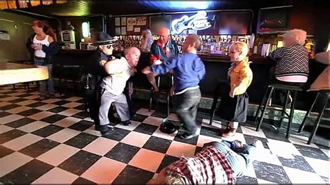 Jackass 3D 2010 @ The midgets are fighting in a bar - YouTube