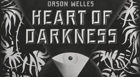 Orson Welles Turns Heart of Darkness Into a Radio Drama