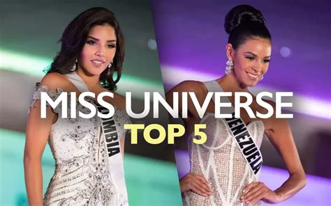 Miss Universe 2017 Live Updates: Top 5 Includes Latinas