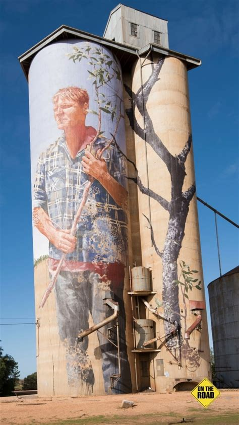 The Silo Art Trail - On The Road