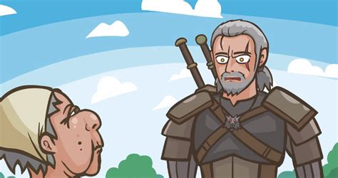 The Witcher 3 parody cartoon chronicles the daily