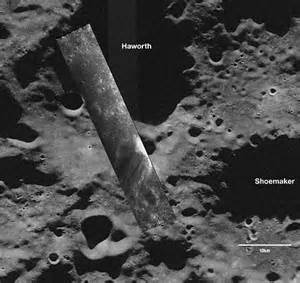 Pictured: First look inside moon's shadowed craters as