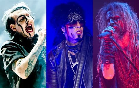 Here's Marilyn Manson, Nikki Sixx and Rob Zombie covering