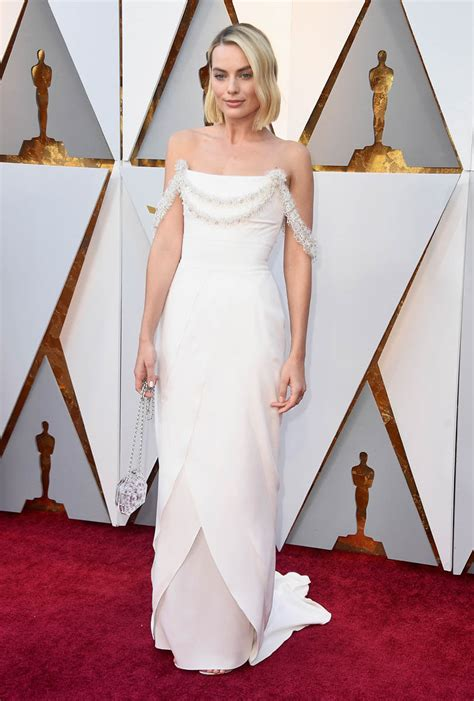 Margot Robbie's dress disappointed at the 2018 Oscars