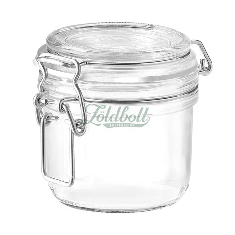 Fido Glass Jar with Clamp Top Lid - 200 ml | Home and