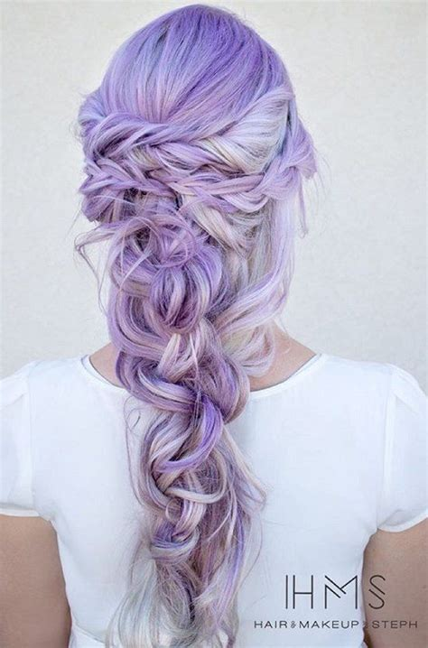 Lavender- because you can't have a bad hair day when your