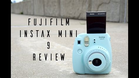 Fujifilm Instax Mini 9: Hands On & Review - YouTube