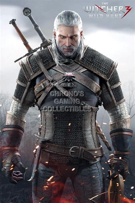Witcher III Video Games Poster | CGCPosters