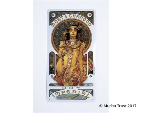 Tin sign MCH Dry Imperial - Mucha Museum E-shop