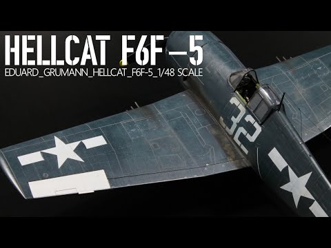 Trumpeter 1/32 F6F-5 Hellcat | Large Scale Planes