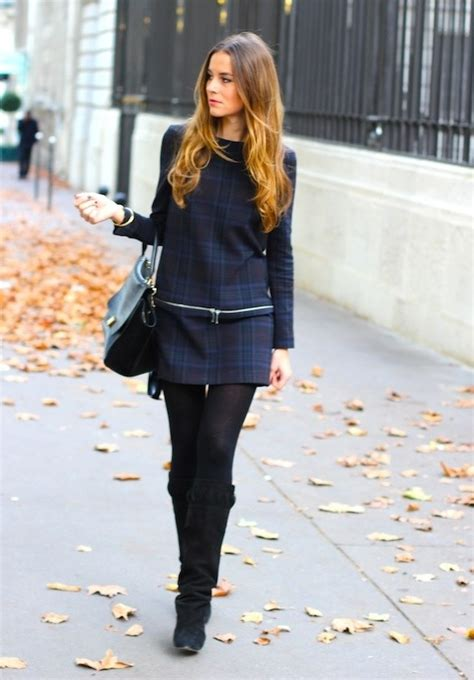 24 Gorgeous Ideas How to Wear Dress and Skirt in Cold Weather
