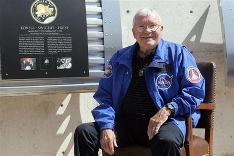 Astronaut Fred Haise to deliver in-person commentary on